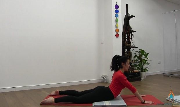 Yin Yoga para meridianos Corazón e Intestino Delgado