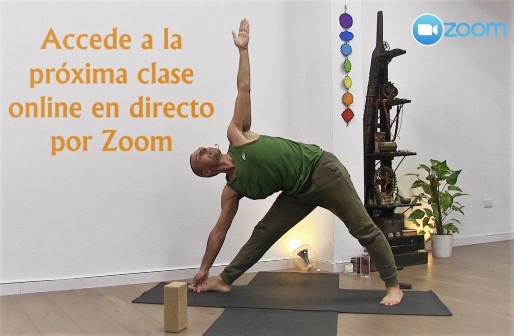 Clases de yoga online y en Arganzuela Delicias Madrid