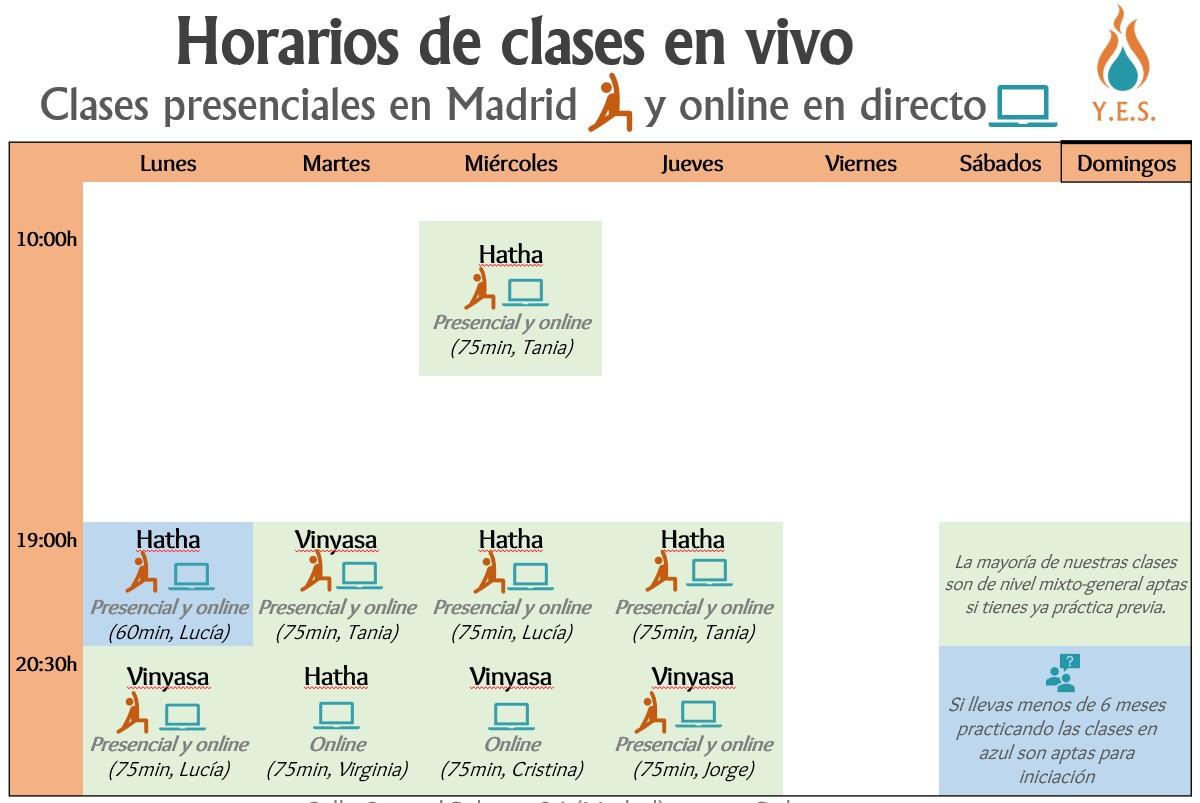 Clases de yoga en Arganzuela Delicias Madrid